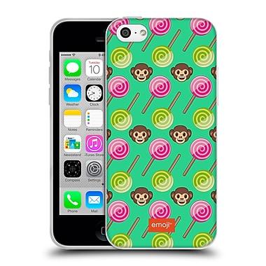 Official Emoji Happy Summer Monkeys Soft Gel Case For Apple Iphone 5C