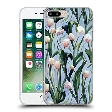 Official Micklyn Le Feuvre Florals 2 Waiting On The Blooming A Tulip Soft Gel Case For Apple Iphone 7 Plus
