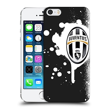 Official Juventus Football Club Lifestyle Splat Black Hard Back Case For Apple Iphone 5 / 5S / Se