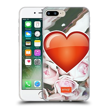 Official Emoji Solos Heart Soft Gel Case For Apple Iphone 7 Plus