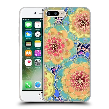 Official Micklyn Le Feuvre Florals 2 Obsession Soft Gel Case For Apple Iphone 7 Plus