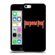 Official Justin Bieber Tour Merchandise Logo Hard Back Case For Apple Iphone 5C