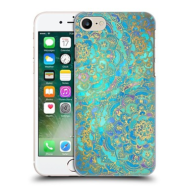 Official Micklyn Le Feuvre Mandala Sapphire And Jade Hard Back Case For Apple Iphone 7
