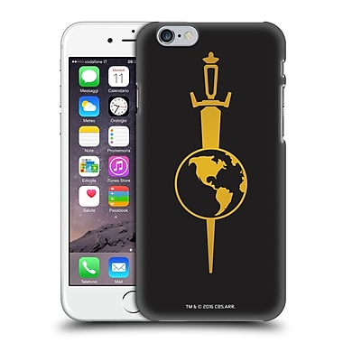 Official Star Trek Uniforms And Badges Tos Mirror Hard Back Case For Apple Iphone 6 / 6S