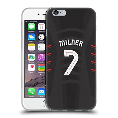 Official Liverpool Football Club Players Away Kit 16/17 Group 2 Milner Soft Gel Case For Apple Iphone 6 / 6S