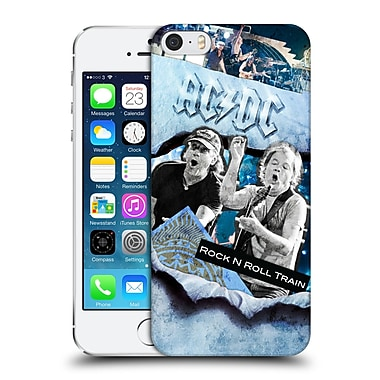 Official Ac/Dc Acdc Collage Rock And Roll Hard Back Case For Apple Iphone 5 / 5S / Se