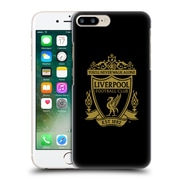 Official Liverpool Football Club Crest 2 Black 2 Hard Back Case For Apple Iphone 7 Plus