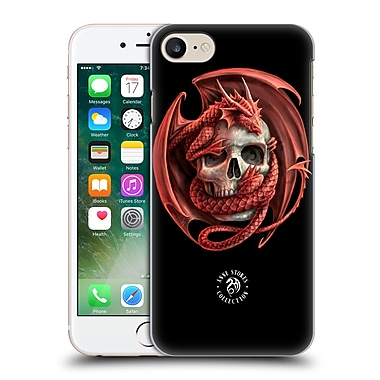 Official Anne Stokes Fire Tribal Dragon And Skull Hard Back Case For Apple Iphone 7