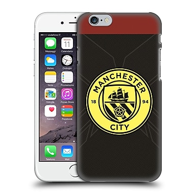 Official Manchester City Man City Fc Badge Kit 2016/17 Away Hard Back Case For Apple Iphone 6 / 6S
