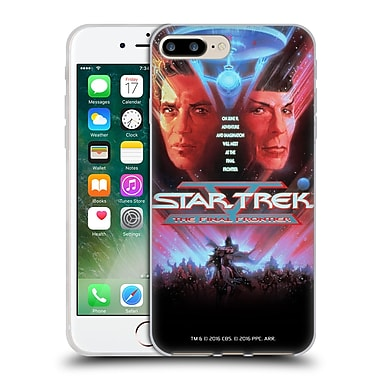 Official Star Trek Movie Posters Tos The Final Frontier Soft Gel Case For Apple Iphone 7 Plus