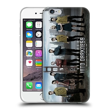 Official Star Trek Characters Into Darkness Xii Group Soft Gel Case For Apple Iphone 6 / 6S