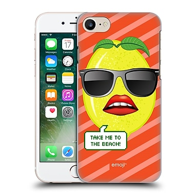 Official Emoji Happy Summer Take Me To The Beach Hard Back Case For Apple Iphone 7