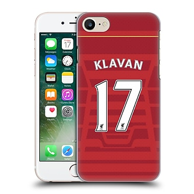 Official Liverpool Football Club Players Home Kit 16/17 Group 1 Klavan Hard Back Case For Apple Iphone 7