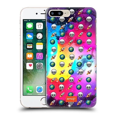 Official Emoji Space Pattern Hard Back Case For Apple Iphone 7 Plus