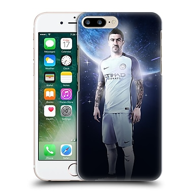 Official Manchester City Man City Fc Power Players Kolarov Hard Back Case For Apple Iphone 7 Plus