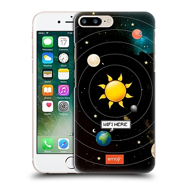 Official Emoji Space Wifi Here Hard Back Case For Apple Iphone 7 Plus