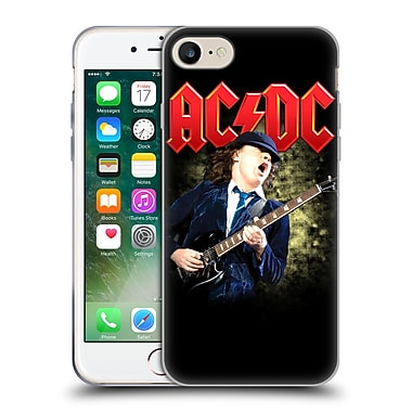 Official Ac/Dc Acdc Solo Angus Young Guitar Soft Gel Case For Apple Iphone 7