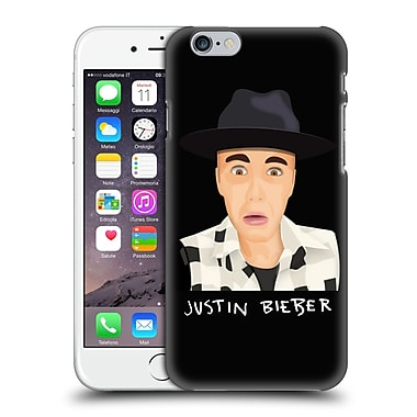 Official Justin Bieber Justmojis Funny Face Hard Back Case For Apple Iphone 6 / 6S
