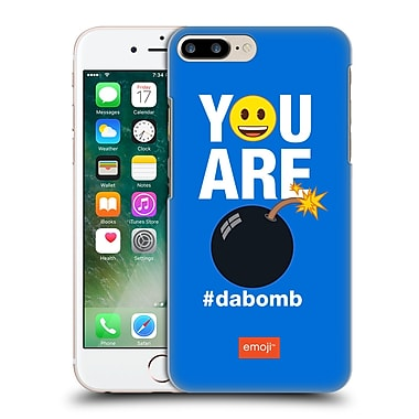 Official Emoji Flat Dabomb Hard Back Case For Apple Iphone 7 Plus