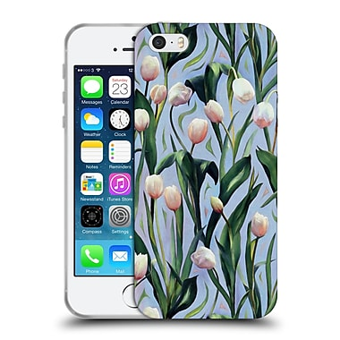 Official Micklyn Le Feuvre Florals 2 Waiting On The Blooming A Tulip Soft Gel Case For Apple Iphone 5 / 5S / Se