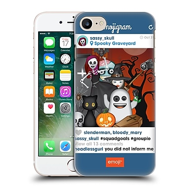 Official Emoji Halloween Parodies Squad Goals Hard Back Case For Apple Iphone 7
