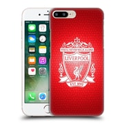 Official Liverpool Football Club Crest 2 Red Pixel 2 Hard Back Case For Apple Iphone 7 Plus
