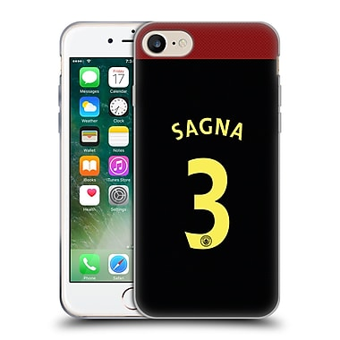 Official Manchester City Man City Fc Away Kit 2016/17 1 Sagna Soft Gel Case For Apple Iphone 7