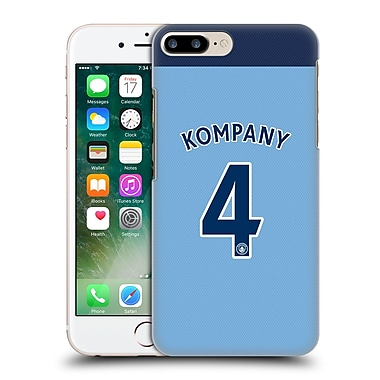 Official Manchester City Man City Fc Player Home Kit 2016/17 Group 1 Kompany Hard Back Case For Apple Iphone 7 Plus