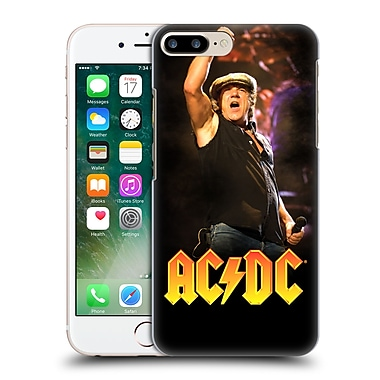 Official Ac/Dc Acdc Solo Brian Johnson Hard Back Case For Apple Iphone 7 Plus