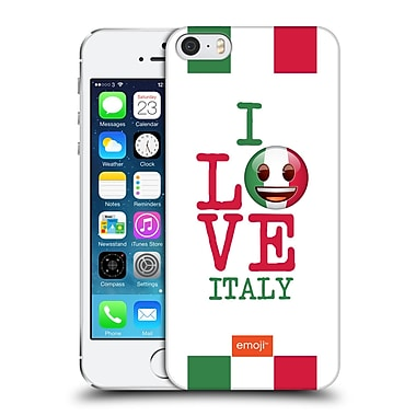 Official Emoji I Love My Country Italy Hard Back Case For Apple Iphone 5 / 5S / Se