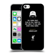 Official Liverpool Football Club Klopp Quotes Full Throttle Icon Soft Gel Case For Apple Iphone 5C