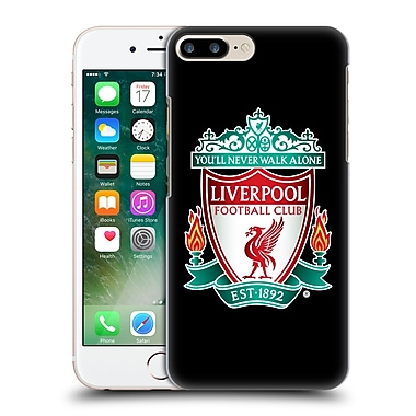 Official Liverpool Football Club Crest 1 Black 1 Hard Back Case For Apple Iphone 7 Plus