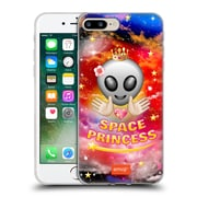 Official Emoji Space Princess Soft Gel Case For Apple Iphone 7 Plus