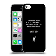 Official Liverpool Football Club Klopp Quotes Full Throttle Soft Gel Case For Apple Iphone 5C