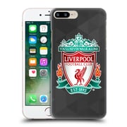 Official Liverpool Football Club Crest 1 Black Geometric 1 Hard Back Case For Apple Iphone 7 Plus