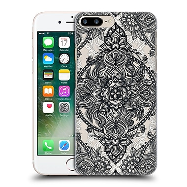 Official Micklyn Le Feuvre Mandala 3 Charcoal Lace Pencil Doodle Hard Back Case For Apple Iphone 7 Plus