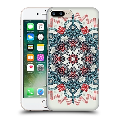 Official Micklyn Le Feuvre Mandala 3 Coral And Teal Tangle Medallion Hard Back Case For Apple Iphone 7 Plus