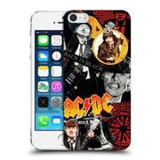 Official Ac/Dc Acdc Collage Angus Young Hard Back Case For Apple Iphone 5 / 5S / Se