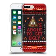 Official Emoji Ugly Christmas Poop Soft Gel Case For Apple Iphone 7 Plus