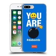 Official Emoji Flat Dabomb Soft Gel Case For Apple Iphone 7 Plus