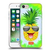 Official Emoji Happy Summer Pineapple Soft Gel Case For Apple Iphone 7
