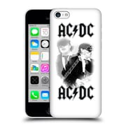 Official Ac/Dc Acdc Solo Angus Young White Hard Back Case For Apple Iphone 5C