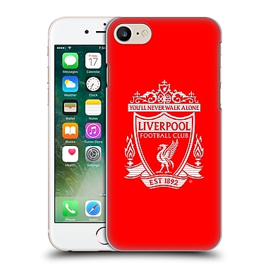 Official Liverpool Football Club Crest 2 Red Hard Back Case For Apple Iphone 7