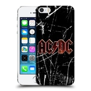 Official Ac/Dc Acdc Logo Red Grunge Hard Back Case For Apple Iphone 5 / 5S / Se