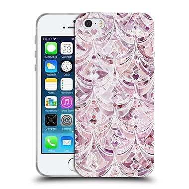 Official Micklyn Le Feuvre Marble Patterns Berry Frosting Art Deco Pattern Soft Gel Case For Apple Iphone 5 / 5S / Se