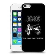 Official Ac/Dc Acdc Song Titles For Those About To Rock Hard Back Case For Apple Iphone 5 / 5S / Se