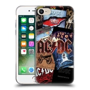 Official Ac/Dc Acdc Collage Album Art Soft Gel Case For Apple Iphone 7