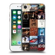 Official Ac/Dc Acdc Collage Album Covers Soft Gel Case For Apple Iphone 7