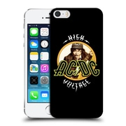 Official Ac/Dc Acdc Song Titles High Voltage Hard Back Case For Apple Iphone 5 / 5S / Se