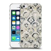 Official Micklyn Le Feuvre Marble Patterns Monochrome Art Deco Tiles Soft Gel Case For Apple Iphone 5 / 5S / Se